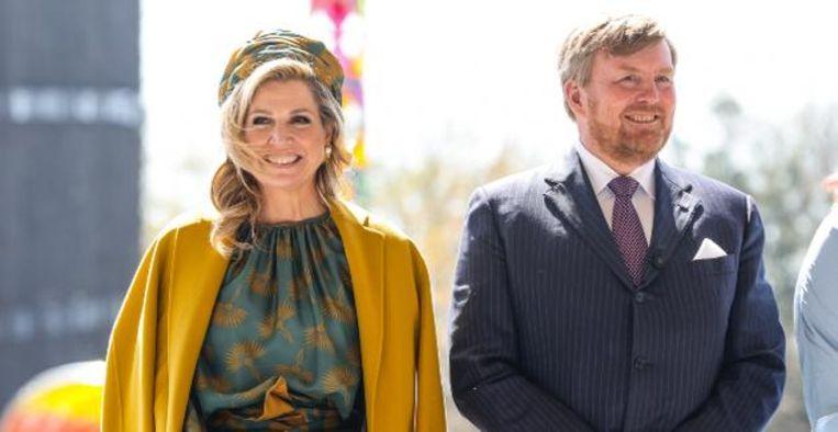 Willem-Alexander en Máxima steken Songfestival-deelnemers hart onder de riem Beeld BrunoPress
