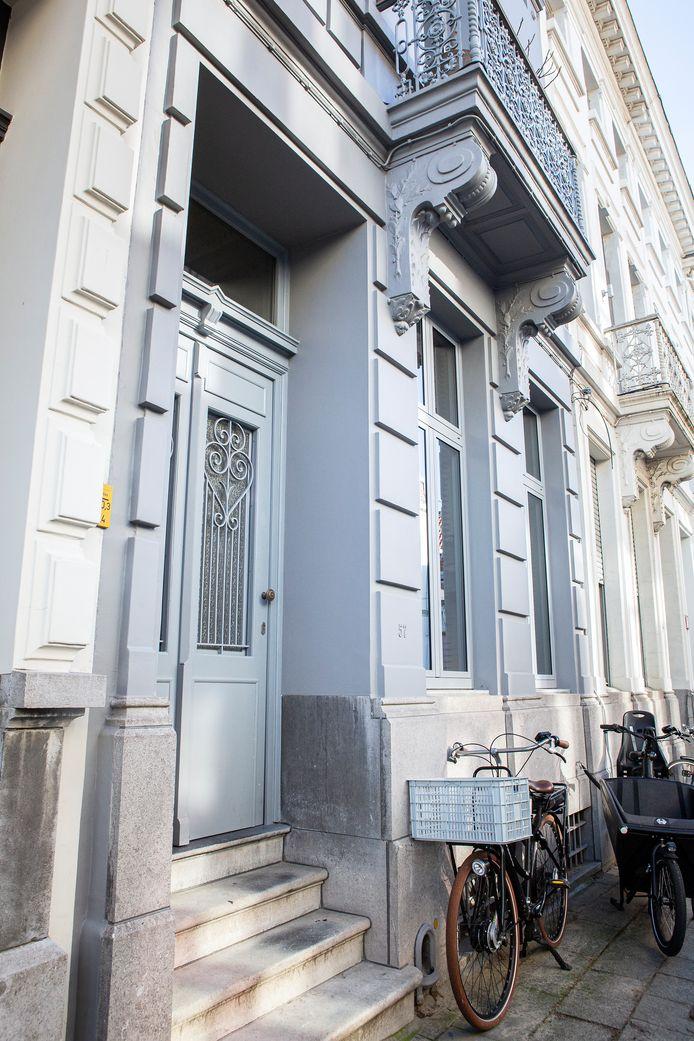 De woning uit de jaren twintig bevat nog heel wat authentieke elementen.