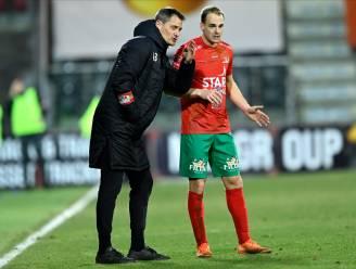 """Brecht Capon brengt met eerste goal in tweeënhalf jaar KV Oostende stap dichter bij PO1: """"Als je na 29 wedstrijden vierde staat, kan dat na 34 matchen óók"""""""
