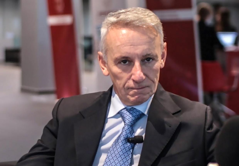 Ferdinando Lorini, hoofd reanimatie van het ziekenhuis in Bergamo. Beeld Screenshot Fondazione Internazionale Menarini