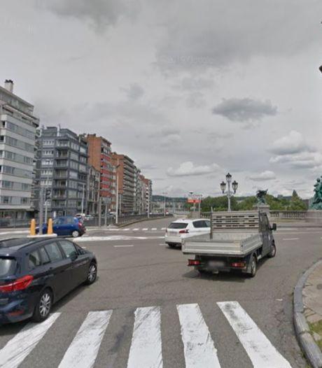Grave accident quai de Rome à Liège: une personne entre la vie et la mort transportée à l'hôpital