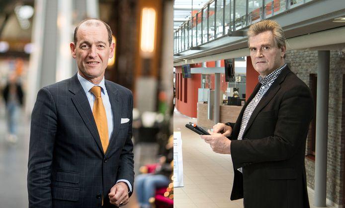 Burgemeester Sander Schelberg van Hengelo en Rob Welten van Haaksbergen. Hengelo gaat taken op het gebied van ICT voor de gemeente Haaksbergen uitvoeren. Een eerste stap in volledige overname van de bedrijfsvoering van Haaksbergen. Op die manier kan Haaksbergen een toekomstbestendige zelfstandige netwerkgemeente worden.