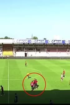 Scène surréaliste à la mi-temps de Courtrai-Lille: deux joueurs du LOSC en viennent aux mains et se font exclure