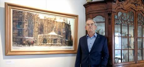 Kunstliefhebber Jan Geerts exposeert in Jan Heestershuis: 'Hier staat het veel mooier dan thuis'