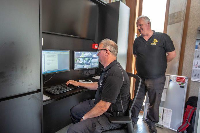 Ook de parkwachters hebben hun stek in het nieuwe gebouw.