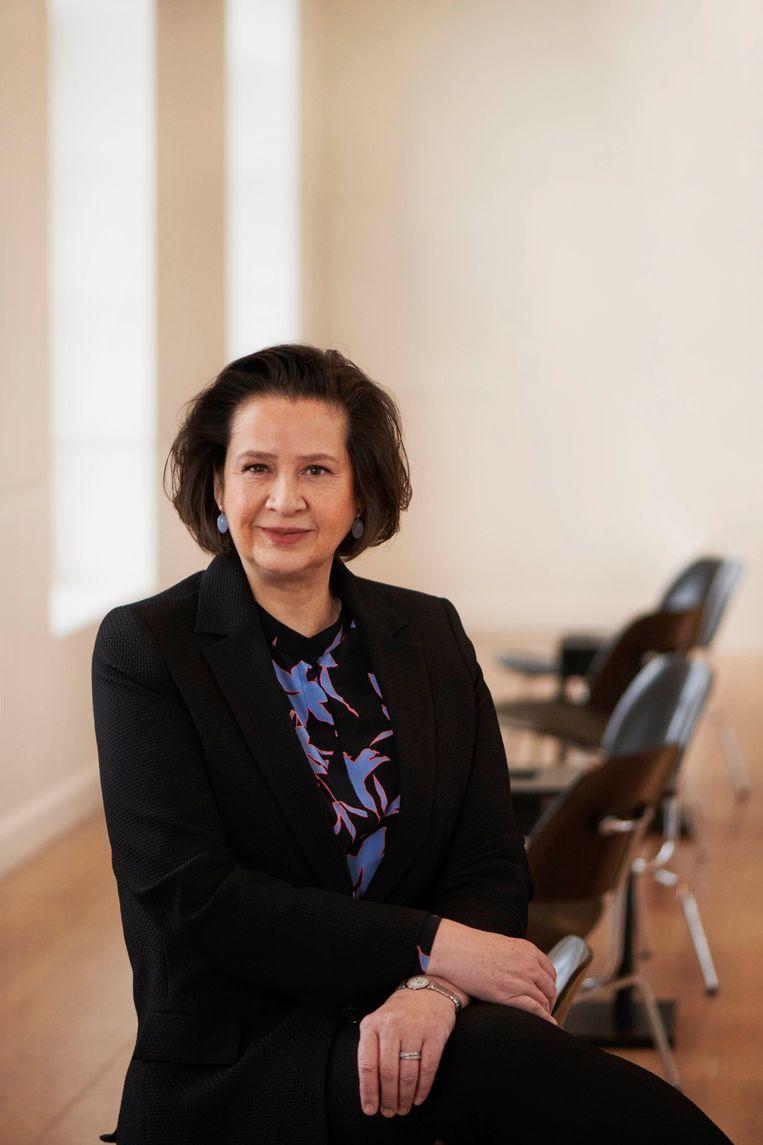 Annabelle Birnie, directeur van De Hermitage en De Nieuwe Kerk sinds januari 2021. Beeld Anne Timmer