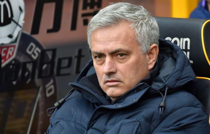 José Mourinho werd vorige maand ontslagen bij Tottenham.