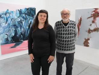 Spel van cijfers resulteert in unieke vader-dochter expo met geschilderde landschappen