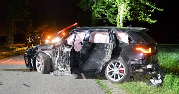 Automobilist gaat ervandoor na ongeval Sluis.
