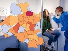 KAART | Staphorst blijft 'coronakoploper', maar niet meer van heel Nederland