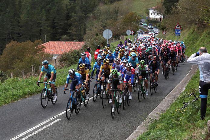 Afgelopen jaar startte de Vuelta niet in Utrecht, maar in het Spaanse Irun.