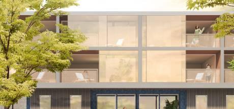 Locatie Blauwe gebouw: vierde woonlaag blijft