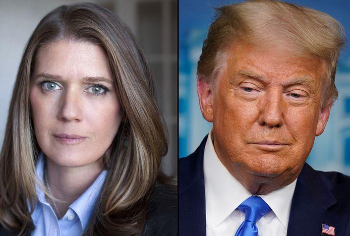 Donald Trump et sa nièce, Mary