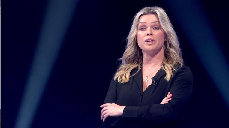 Bridget Maasland in De Zwakste Schakel. Beeld
