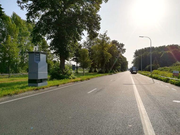 Het 'neefje' van Sammeke staat op de Drongensesteenweg.
