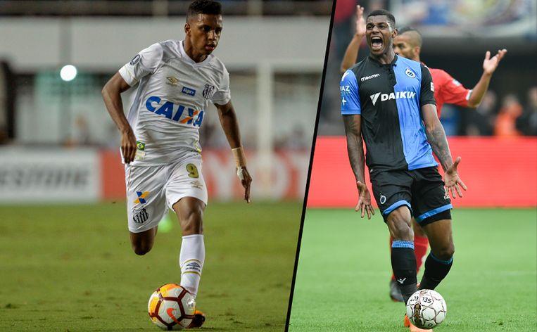 Rodrygo en Wesley Moraes.