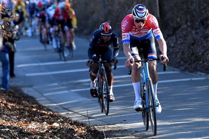 Le GP Samyn sera la deuxième course de Mathieu van der Poel en Belgique.