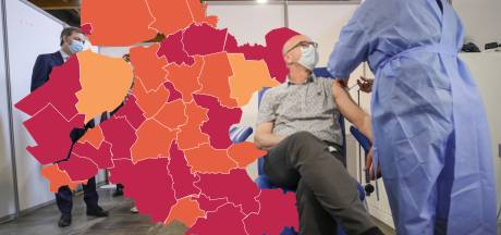 KAART | Fikse coronapiek in IJsselland en Noord- en Oost-Gelderland, reden tot zorgen op Urk