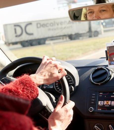 Proef met app tegen spookfiles A58 tussen Tilburg en Eindhoven gestopt