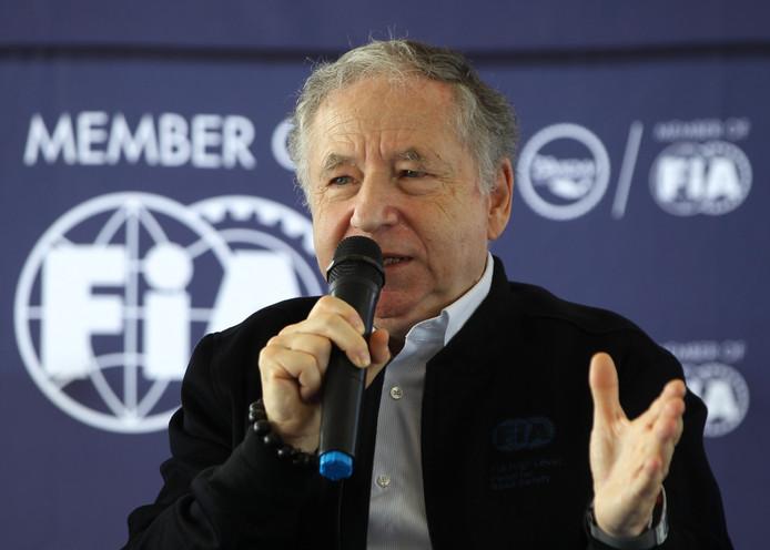 FIA-voorzitter Jean Todt.