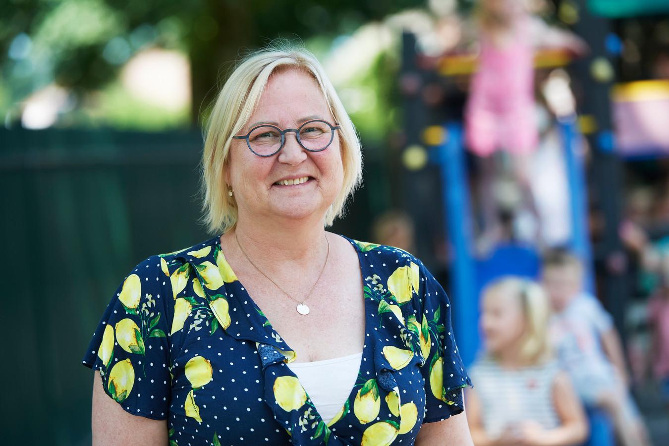 Els Ligthart-Denteneer stopt als lerares op basisschool De Polderhof in Oss.