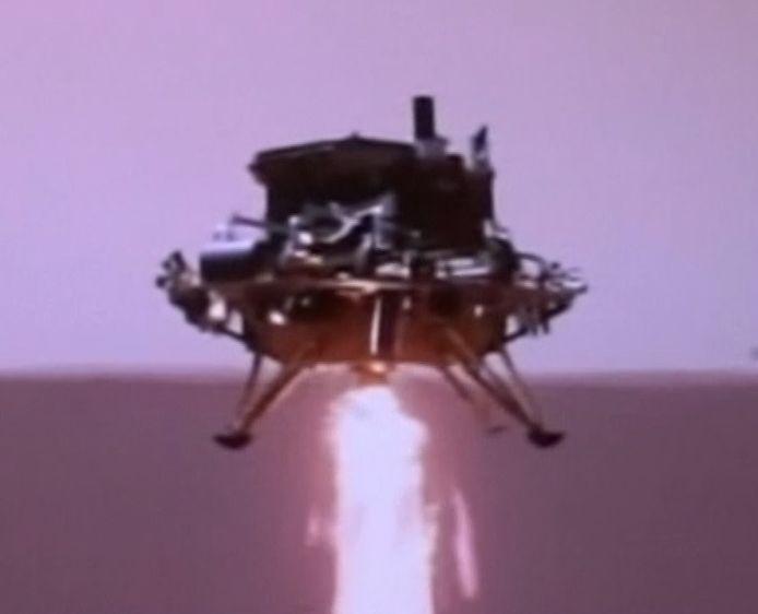 La Chine est parvenue à poser un petit robot sur Mars.