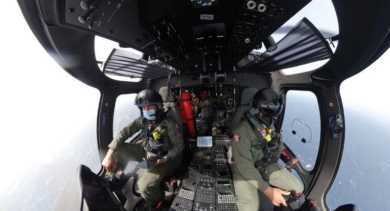 De winnende foto van een Frontex-fotowedstrijd voor medewerkers.  Beeld
