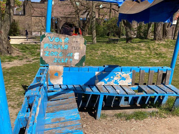Het El Paso parkje in het Rabot