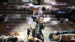Madonna past video optreden Eurovisiesongfestival aan: geen valse noten meer