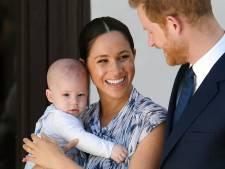 Baby Archie laat eerste woordjes horen in podcast Meghan en Harry