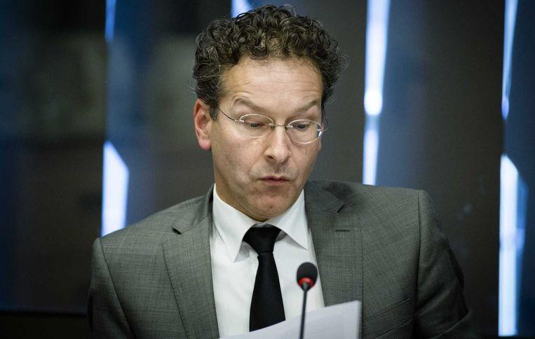 Eurogroepvoorzitter Jeroen Dijsselbloem. Beeld ANP