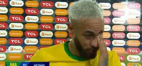 """Les larmes de Neymar après la victoire du Brésil: """"J'ai traversé beaucoup de choses compliquées"""""""