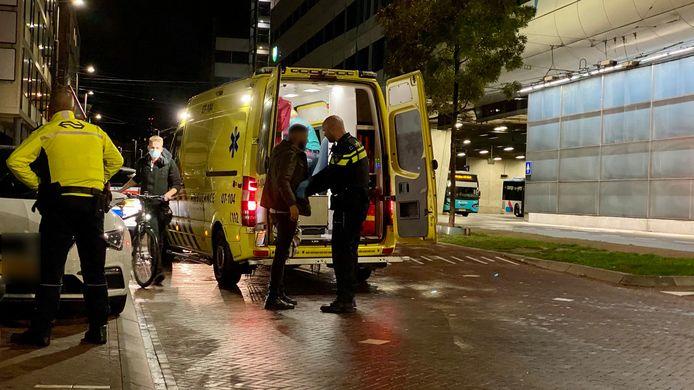 Een man is slachtoffer geworden van een steekpartij in Arnhem.