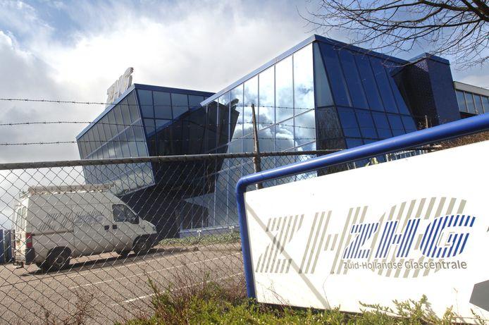 Het pand van de vroegere Zuid-Hollandse Glascentrale maakt plaats voor woningbouw.