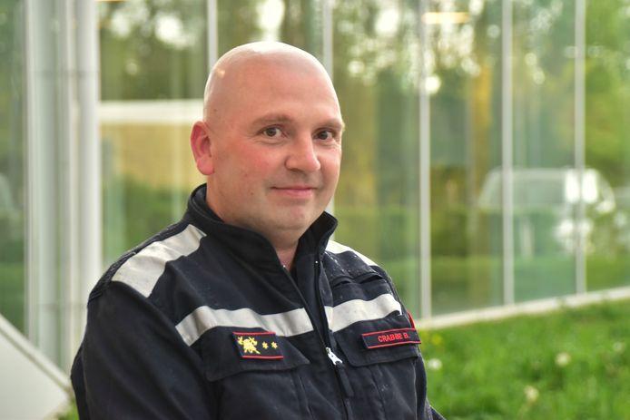 Bob Crabbe (46) leidt voortaan de Westrozebeekse brandweerpost.