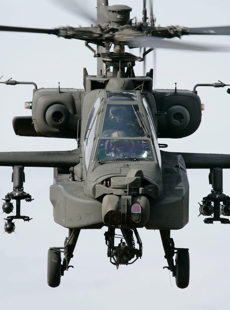 Apache-helikopter Beeld defensie