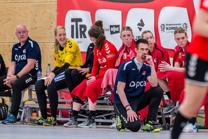 Lars Hoogeveen had in de voorlaatste wedstrijd van het seizoen geen reden om tevreden te zijn over Kwiek.