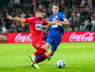 """Lucas Rougeaux pakte tegen AA Gent al zijn vijfde gele kaart en is geschorst voor de derby tegen Zulte Waregem: """"Ik had geen andere keus"""""""