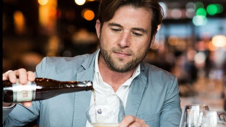Bram Westenbrink van Heineken Nederland gaat bierdrinkers dit jaar zowel aan speciaalbier Affligem, als aan appeldrankje cider helpen Beeld Heineken