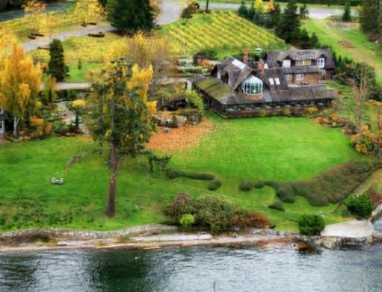 Een blik op Deep Cove Chalet, waar Meghan en Harry wilden gaan dineren.