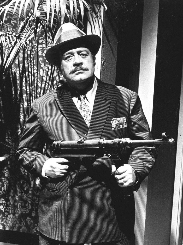 Pistolen Paultje (Paul Wilking) in 1975.  Beeld ANP