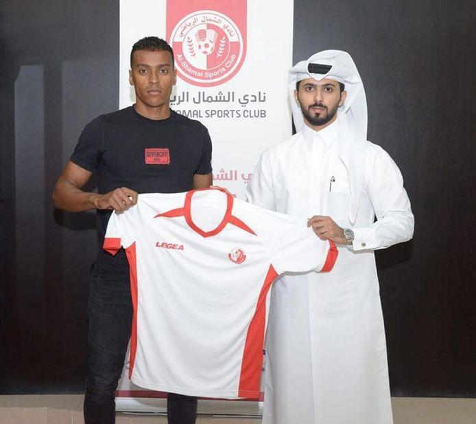 Jeremy de Nooijer speelt sinds medio 2019 voor Al-Shamal in Qatar.