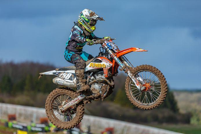 Shana van der Vlist kan in Litouwen eindelijk aan het motocross seizoen beginnen.