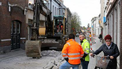 Kerkstraat tot vrijdag afgesloten voor verkeer