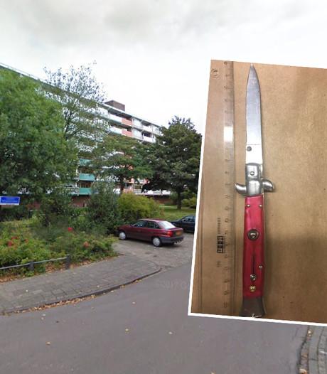 Man (29) opgepakt na trekken stiletto-mes bij ruzie in Harderwijk