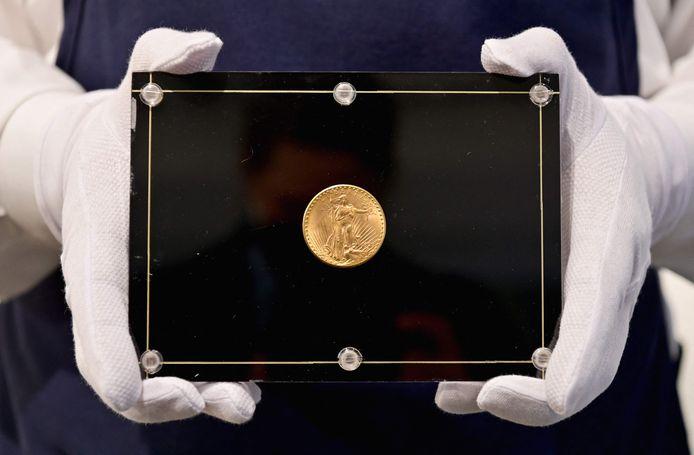 De Double Eagle uit 1933 was oorspronkelijk 20 dollar waard.