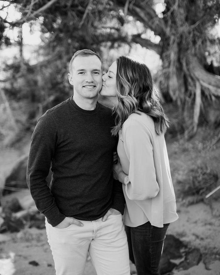 Kenneth Allen en zijn vrouw. Beeld Facebook