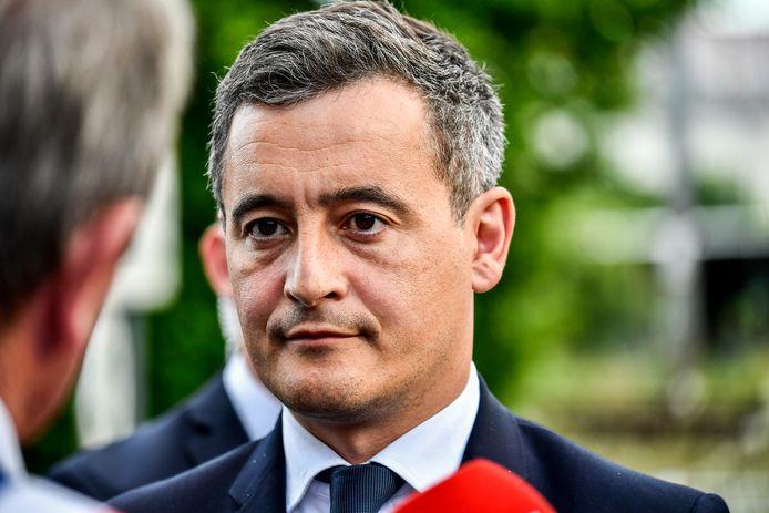 Le nouveau ministre de l'Intérieur français Gérald Darmanin