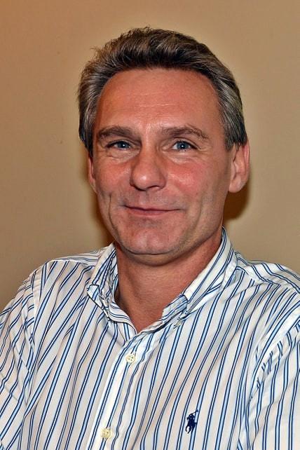 Voorzitter Gunter Nevelsteen.