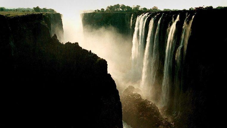 Victoria Falls in Zimbabwe Beeld EPA